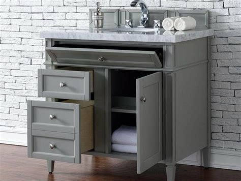 brittany  urban gray bathroom vanity james martin