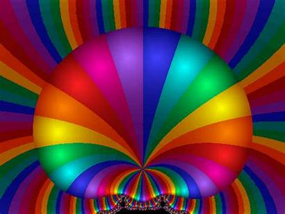 Rainbow Colours Colors Google Animated Fractal Arcobaleno