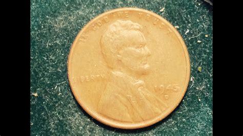 1945 D Wheat Penny (mintage 266 Million)