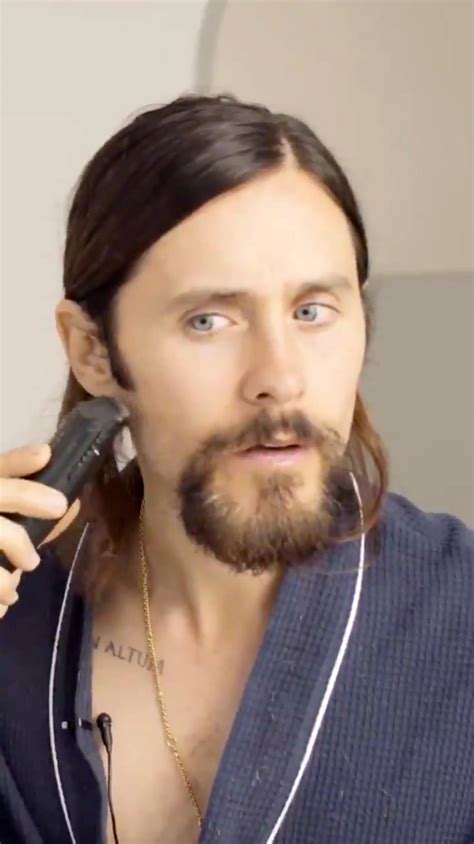 jared leto shaves  beard   film role  morbius