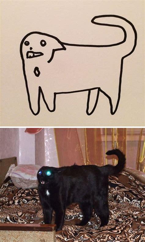 dibujos  los   tienen gatos diran  son malos