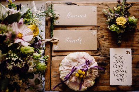 Inspirationen Für Eine Hochzeit Im Rustikalromantischen Stil