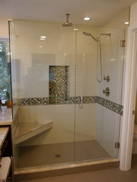 shower pans benches innovative kitchen bath