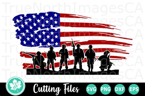 Download in svg and use the icons in websites, adobe illustrator, sketch, coreldraw and all vector design apps. American Flag Soldiers - An American SVG Cut File (205520 ...