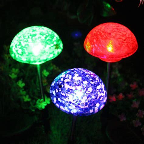 solar mushroom garden lights solar mushroom lights solar lights blackhydraarmouries