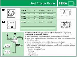 Split Charge Relay