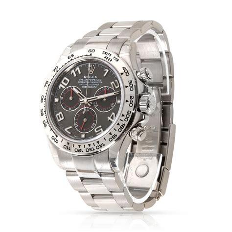 Rolex Pre-owned Rolex Daytona Chronograph Automatic Grey ...