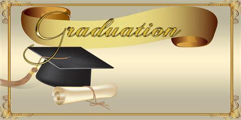 School Banners - Graduation Gold