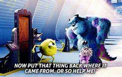 monsters inc mike wazowski sully monsters inc* catmanskote •