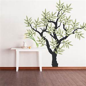 olive tree wall decal With wall decal tree
