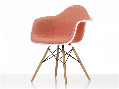 Buy The Vitra Upholstered Daw Eames Plastic Armchair At