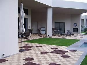 Terrasse En Caillebotis : caillebotis polypropylene terrasse ~ Premium-room.com Idées de Décoration