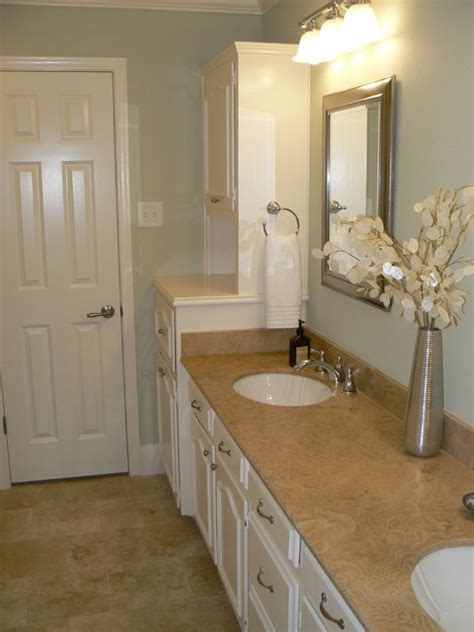 marble kitchen floor it s great to be home serene guest bath traditional 4011