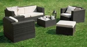 salon de jardin en resine tressee With meubles de jardin en resine tressee