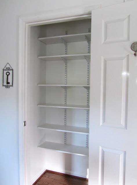 Linen Closet Shelving Systems by Linen Closet S House Adjustable
