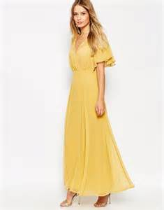 sleeve maxi dresses for weddings what to wear to a fall 2015 wedding