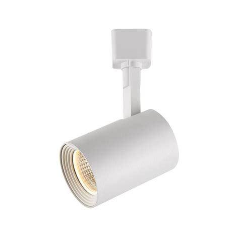 hton bay 1 light white dimmable led cylinder track