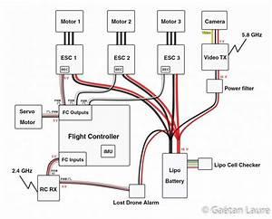 Drone Circuit Diagram