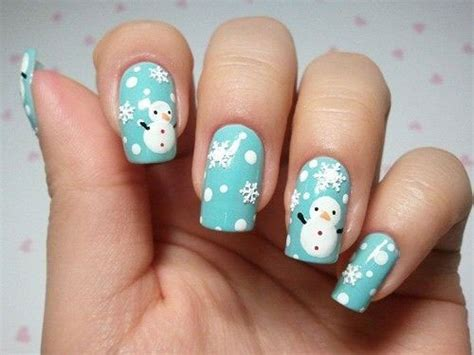 Nail Art Winter : 25 Best Winter Nail Art Designs & Ideas 2017