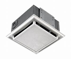 Nutone 682nt white polymeric non ducted ceiling or wall for Non ducted bathroom fan