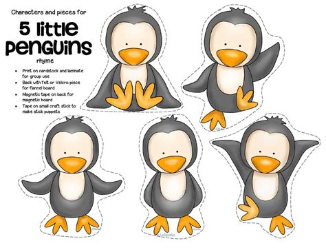 penguins theme activities and printables for preschool and 838   1117752 orig