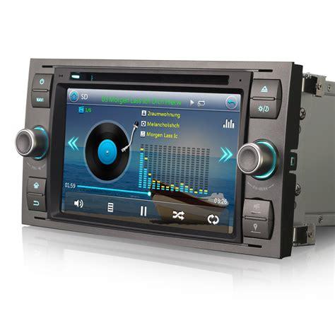 7 quot direct fit car radio gps sat nav dvd bt stereo for ford focus mk2 2005 2008 ebay