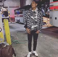 NBA Fashion Jordan Clarkson Dressed In Fear Of God Supreme u0026 Saint Laurent u2013 dmfashionbook.com