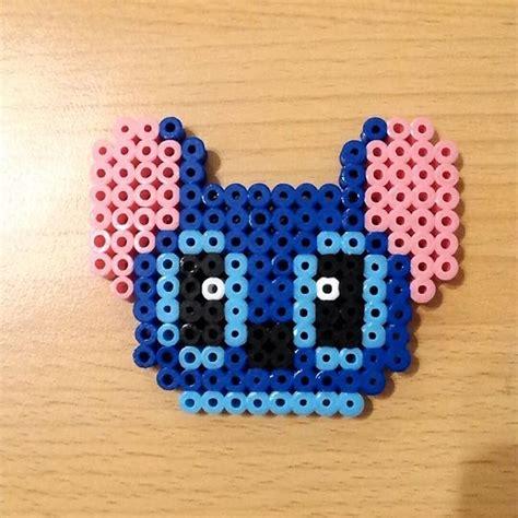 Stitch hama beads by dama beads zgz Kids art projects