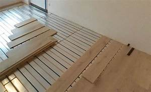 plancher chauffant par caleosol With pose parquet sur plancher chauffant