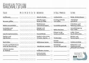 Wochenplan Haushalt Familie : haushaltsplan mit vorlage zum download haushalt pinterest haushalt planer und haushaltsplaner ~ Markanthonyermac.com Haus und Dekorationen