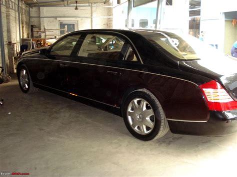 Maybach Car : Maybach 62 Spotted In Delhi!!!