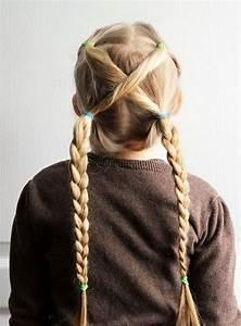 Coiffure Facile Pour Petite Fille : coiffure petite fille simple 20 id es qui ne prennent pas plus de 5 minutes ~ Nature-et-papiers.com Idées de Décoration