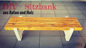 App Selber Bauen : eine sitzbank aus holz und beton selber bauen baue dir ~ A.2002-acura-tl-radio.info Haus und Dekorationen
