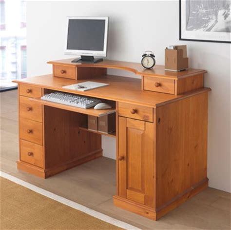 bureau ordinateur bois bureau la redoute 5 photos