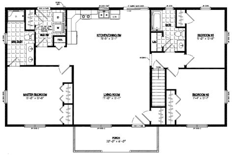 Pioneer Certified Home Floor Plans