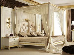 Picture of superb canopy frame modern bed curtains for How to buy king size canopy bed