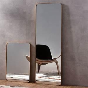 Miroir à Poser : miroir poser en m tal dor h150 x l50 cm hexa ~ Teatrodelosmanantiales.com Idées de Décoration