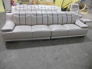 contemporary furniture ivory leather living room sofas 4 With sectional sofa seats 6