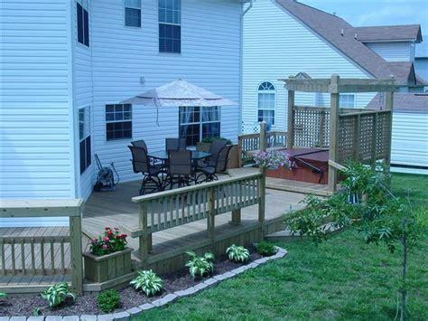 landscaping decks landscaping around deck beautifying the yard pinterest