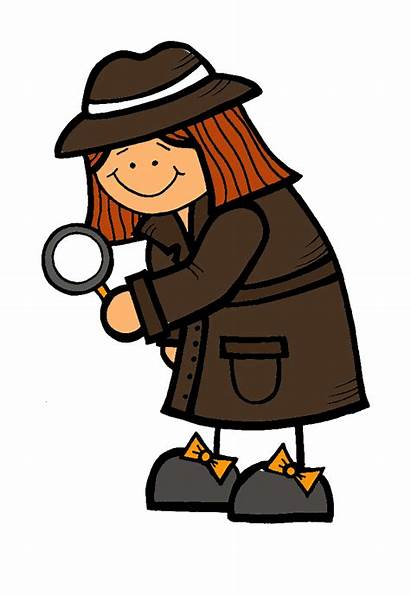 Detective Clip Clipart Spy Mystery Woman Cliparts