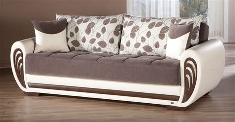 Index Sofa Bed by Marina Armoni Brown Convertible Sofa Bed By Istikbal Furniture