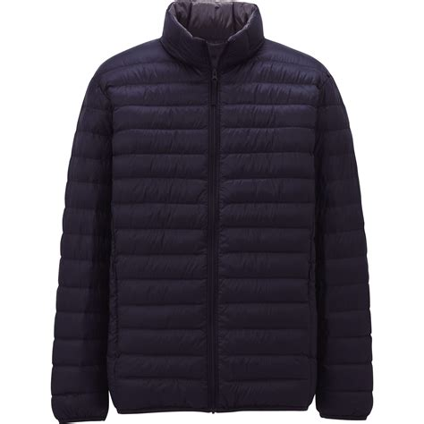 ultra light down jacket uniqlo ultra light down jacket in black for men blue lyst