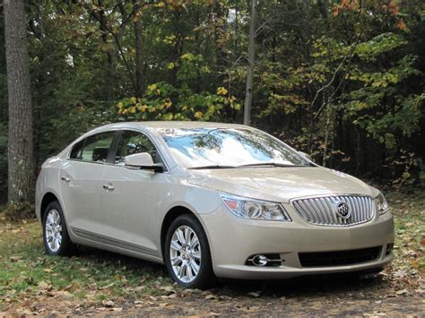 2012 buick lacrosse with eassist mild hybrid weekend