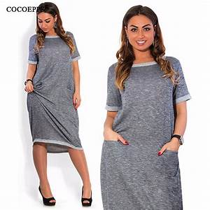 Aliexpress.com : Buy Women plus size casual summer dress ...