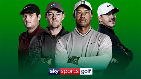 The Masters, PGA Championship, US Open, The Open live on ...