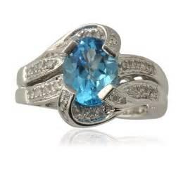 topaz engagement ring blue topaz engagement rings review