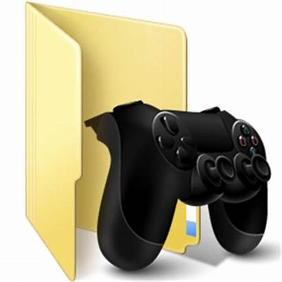 Folder Icon Windows Games Ps4 Icons Newdesignfile