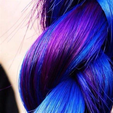 1000 Ideas About Blue Hair Highlights On Pinterest Hair