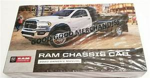 2020 Dodge Ram Chassis Cab Owners Manual 2500 3500 4500 5500 6 4l 6 7l 4wd 2wd