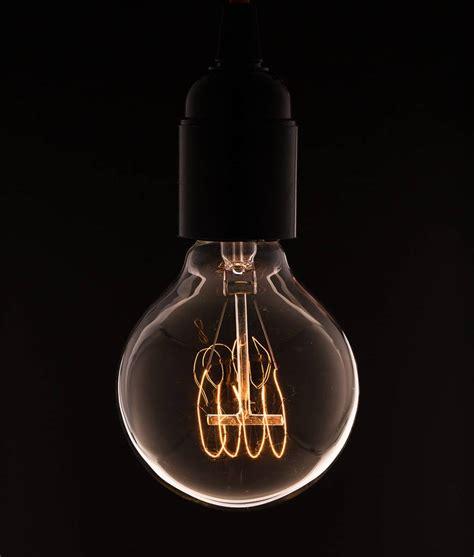 vintage light bulbs medium globe loop filament vintage light bulb rustic